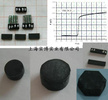 YBCO高溫超導材料(釔鋇銅氧)  近代實驗樣品  科普演示樣品