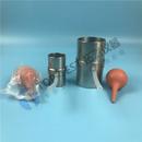 Φ61.8 三轴实验 不锈钢承膜筒 装样 土工仪器
