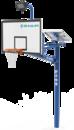 舒华品牌  场地设施  SH-L2101T太阳能篮球架