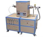 1700℃单温区三通道混气CVD系统GSL-1700X-F3LV