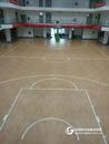 某体育馆篮球地板