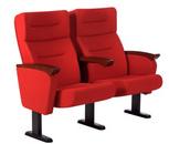 软席排椅-礼堂椅JR07-H19-2