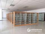 双柱单面书架 钢制书柜书架厂家