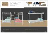 广东学校学生宿舍上下铺床 东莞工厂员工宿舍公寓床