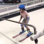健身房滑雪机 儿童训练室内滑雪机 安徽室内滑雪练习机厂家