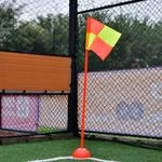 【派迪茵】厂家直销 足球训练设备训练角旗