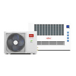 米特拉空氣源熱泵/采暖器家用節能/方形分體機/暖智星系列