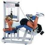 卧式大腿屈接练习器
