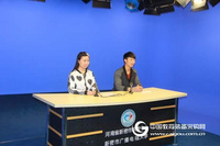 校园电视台演播室