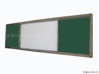生产与电子白板相配的推拉磁性黑板 尺寸可定制