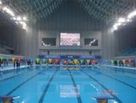 轻钢结构泳池