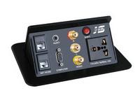 JS-550多功能桌面插座 可藏式接线盒