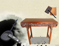 制造商批发书法桌椅价格优惠 厂家直销学校书法桌凳批发