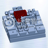 微型齒輪箱銑床組合夾具