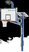 舒華品牌  場地設施  SH-L2101T太陽能籃球架
