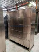 顺德不锈钢鞋柜不锈钢衣柜定制不锈钢金属衣柜尺寸厂家定制