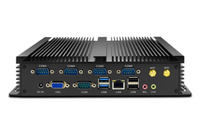 天虹迷你主机工控机J1900微型电脑minipc小主机电脑广告机i5八代双网口6串口无风扇服务器工控linux工控主机