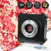 超强色彩还原科研极CCD相机,500万像素显微镜摄像头