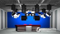 虛擬演播室4K超清演播室 網絡直播室錄播室建設智能錄播系統