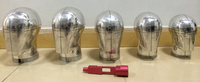 全頭型測試頭模國標歐標金屬頭型安全帽消防帽測試頭模