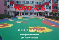 卡通幼兒園地板;幼兒園拼花地板;幼兒園塑膠地墊;幼兒園專用地膠;