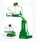 永烁电动液压篮球架