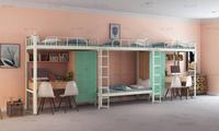 想买高性价比的学生宿舍公寓床还得来铭仁家具