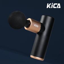 kica筋膜枪荣耀黑金版肌肉放松枪专业级健身按摩器仪迷你颈膜枪 浅灰色