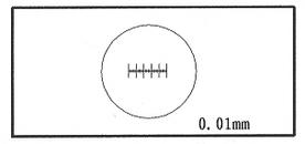 顯微鏡專用測微臺尺