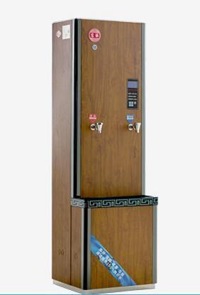 宏华爱华系列:花梨木纹爱华立式机电开水器