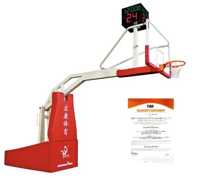 手動液壓籃球架
