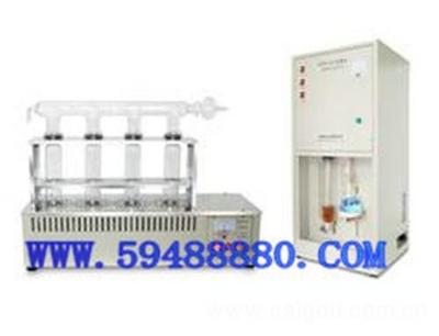 凯氏定氮仪/粗蛋白含量测定仪(单排配四孔消化炉) 型号:CDKDN-08B
