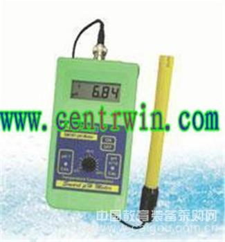 便携式PH测定仪/PH计/便携式酸度计 意大利 型号:MTYK-SM101