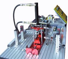 油压冲孔成型实习机