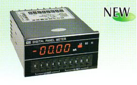 四位半数字显示带上中下限设定直流电流表头