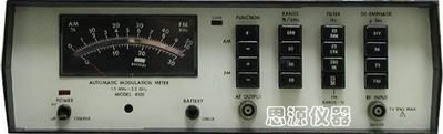 自动调制度测试仪 AUTOMATIC MODULATION METER WAVETEK 4101