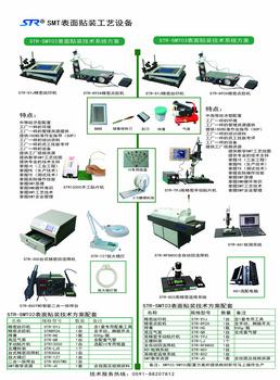 STR-SMT02(03)表面贴装技术系统方案
