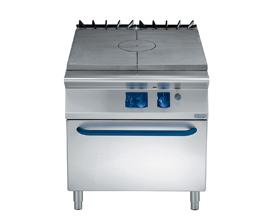 燃气热板炉连下燃气焗炉ZSTOG2