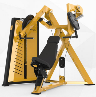 舒华大黄蜂系列力量器械 SH-G7801卧姿推胸训练器