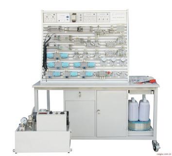 BPYPC-T铝槽式铁桌液压PLC控制实验台