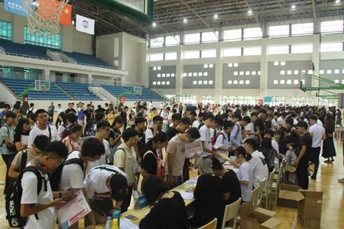 山东体育学院智慧迎新,新生开学暖心又便捷