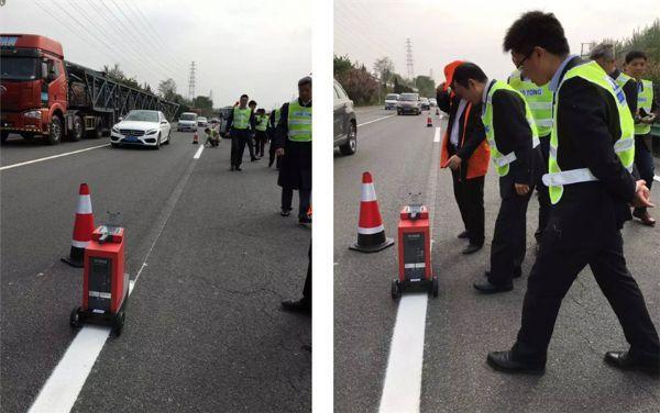 欧美大地解析DELTA道路标线逆反射仪