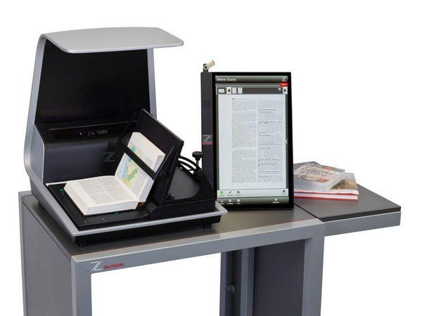 新款zeta书刊扫描仪开启智能办公新体验