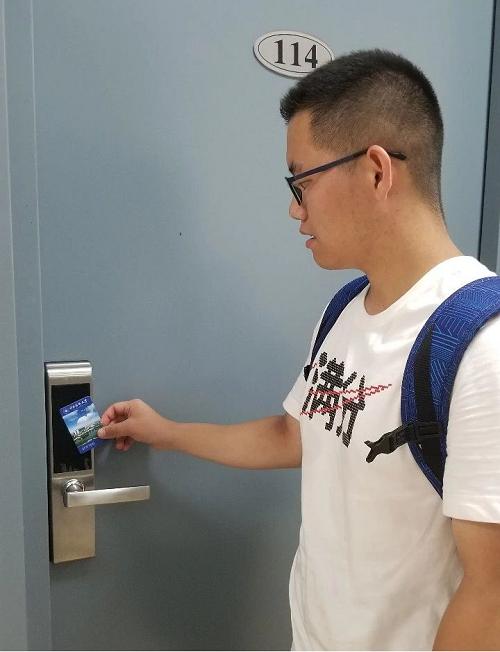 赛客智能门锁助力中国药科大学打造智慧校园