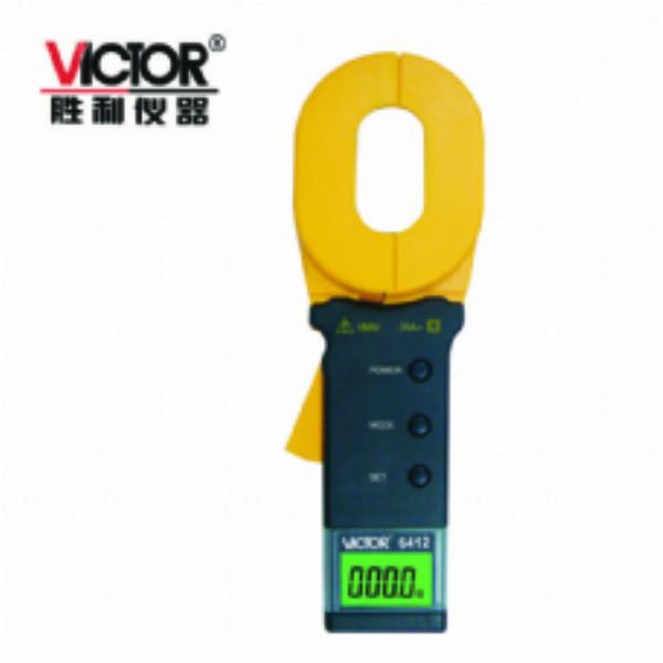 接地电阻测试仪 胜利VICTOR6412电阻测试仪 胜利VICTOR6412