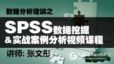 SPSS数据挖掘与实战案例分析(高级班)