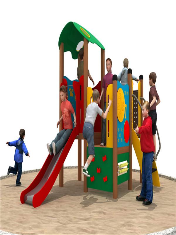 板材滑梯系列