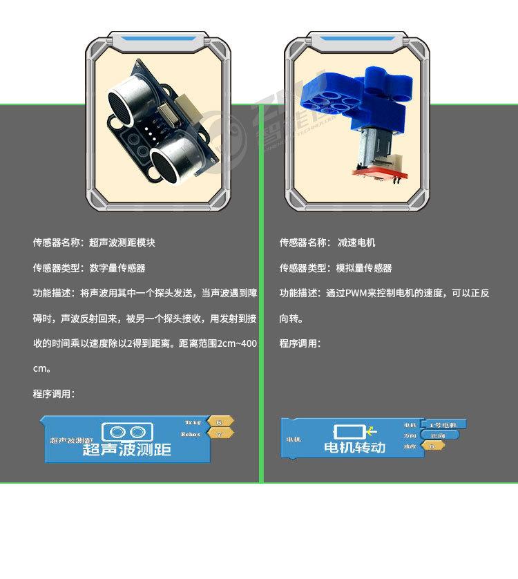 智能佳 智慧+Arduino拼装套件 积木拼装玩具 智能益智玩具机器人
