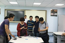 中央电化教育馆调研西安教育信息化工作