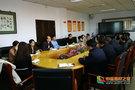河北民族師范學院黨委副書記高俊虎組織召開學生工作隊伍座談會